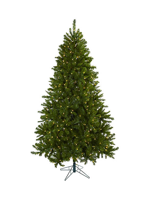 Nearly Natural 7.5 ft Windermere Christmas Tree with