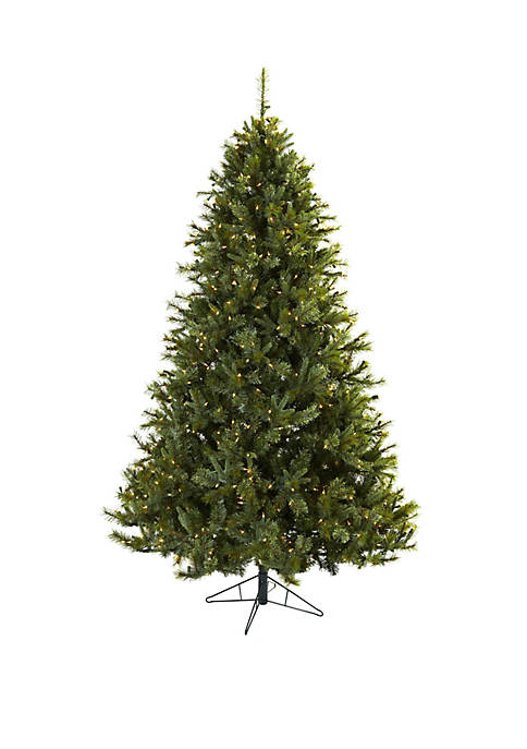 Nearly Natural 7.5 ft Majestic Multi-Pine Christmas Tree