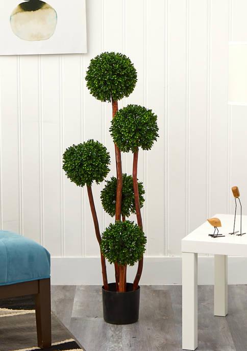 4-Foot Boxwood Topiary Tree
