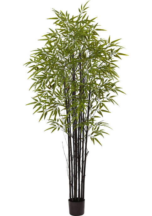 Nearly Natural Black Bamboo Tree x 9 with