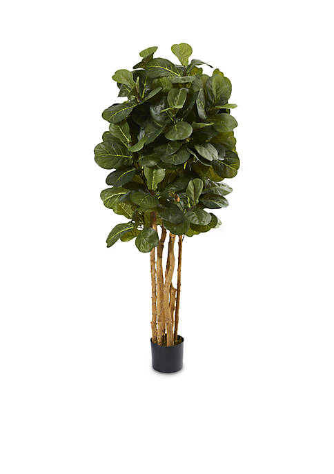 Nearly Natural 5-ft. Fiddle Leaf Fig Artificial Tree