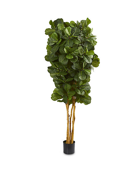Nearly Natural 7-ft. Fiddle Leaf Fig Artificial Tree