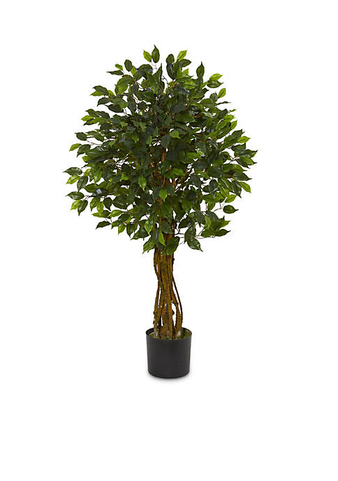 Nearly Natural Ficus Artificial Tree (Indoor/Outdoor)