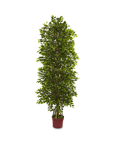 Nearly Natural 6-ft. Four Tier Mini Ficus Artificial