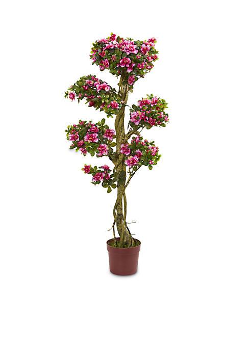 Nearly Natural 5-ft. Azalea Artificial Tree