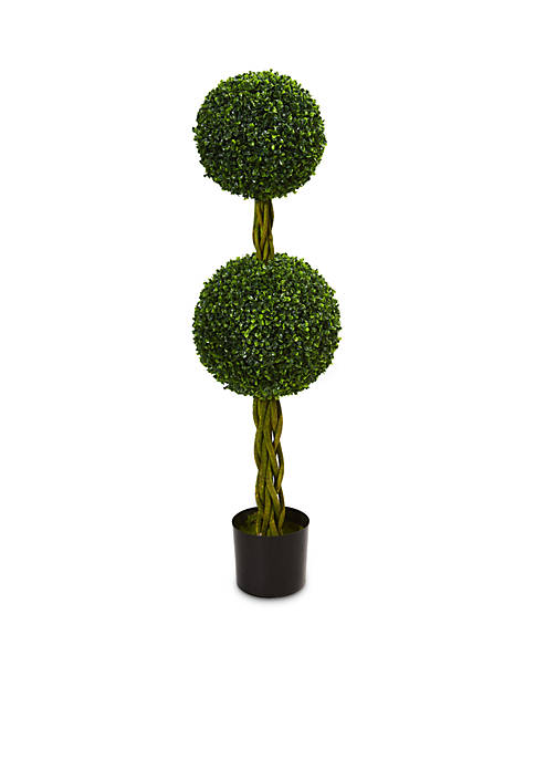 Nearly Natural Boxwood Double Ball Artificial Topiary Tree