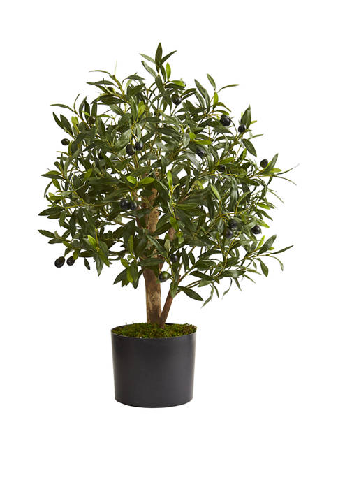 Nearly Natural 29 Inch Olive Artificial Tree