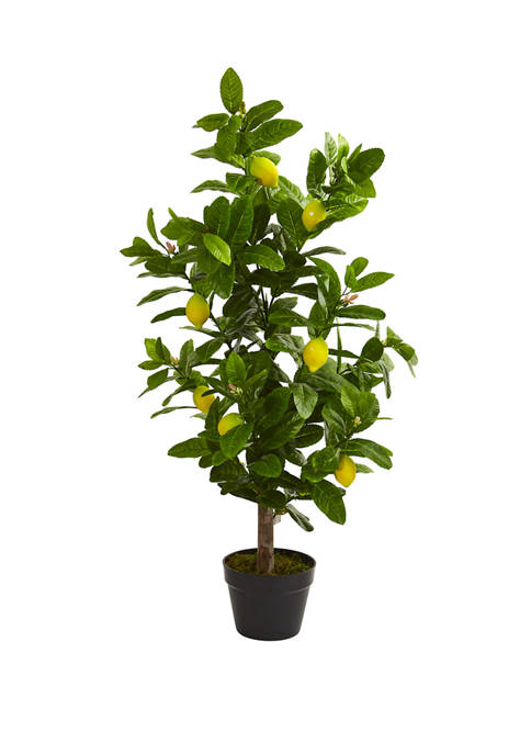 Nearly Natural 3 Inch Lemon Artificial Tree