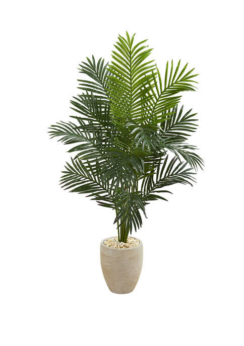 Nearly Natural 5.5 Foot Paradise Artificial Palm Tree