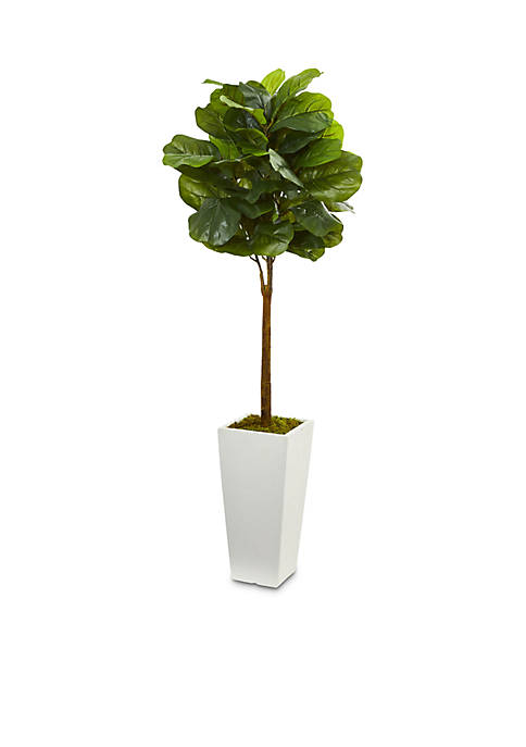 Nearly Natural Fiddle Leaf Artificial Tree