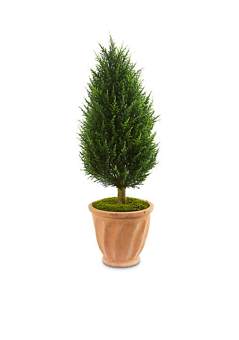 Nearly Natural Cypress Artificial Tree