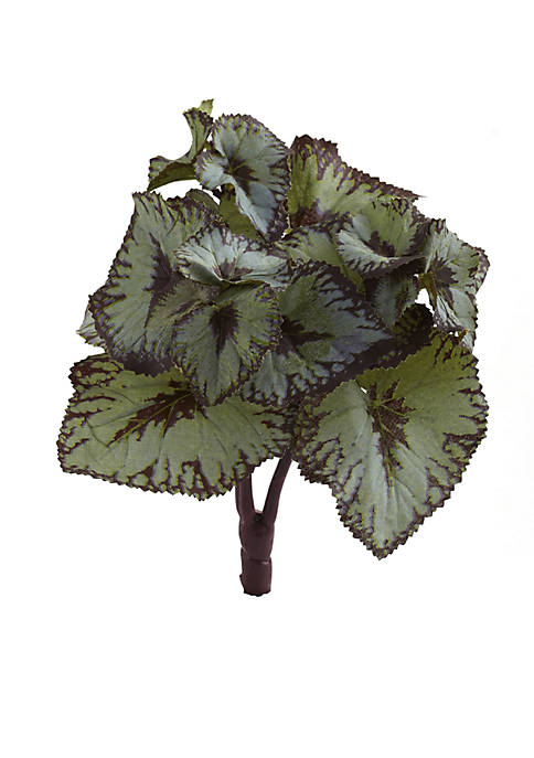 Nearly Natural Rex Begonia Artificial Bush Stems