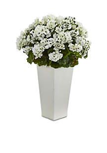 Geranium Artificial Plant UV Resistant (Indoor/Outdoor)