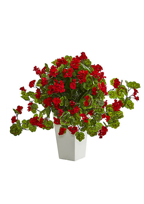 Nearly Natural Geranium Artificial Plant