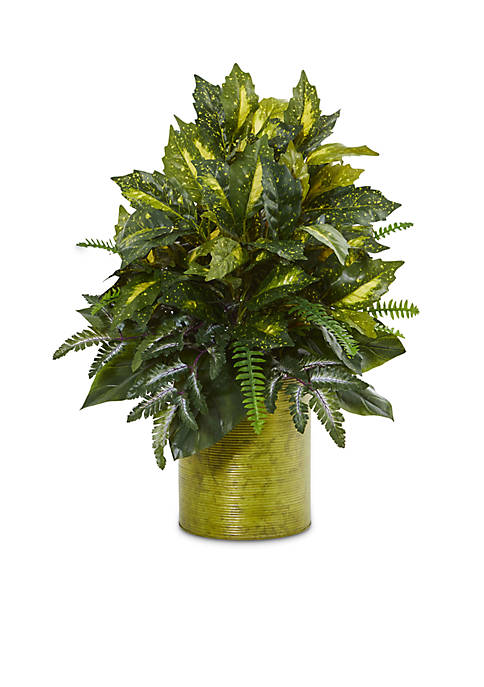Nearly Natural Mixed Greens Artificial Plant