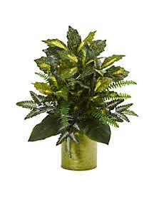 Mixed Greens Artificial Plant
