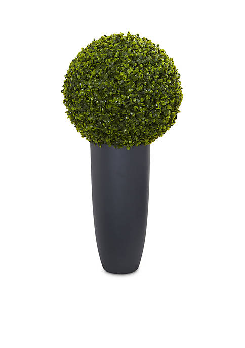 Boxwood Artificial Topiary Plant