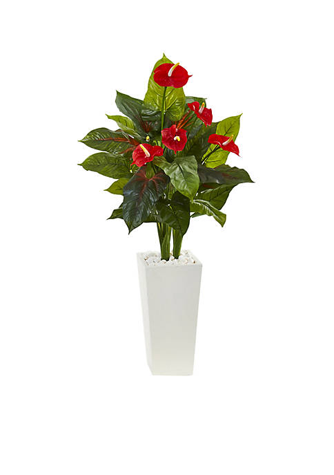 Nearly Natural Anthurium Artificial Plant