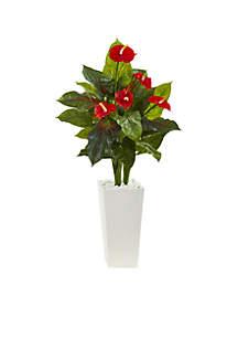 Anthurium Artificial Plant