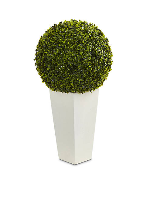 Nearly Natural Boxwood Topiary Ball Artificial Plant
