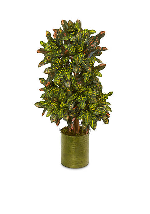 Nearly Natural Croton Artificial Plant