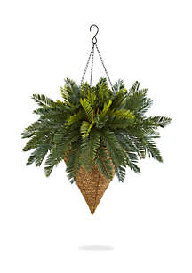Cycas Hanging Basket Artificial Plant