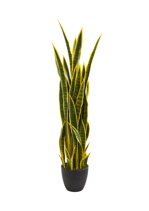 Nearly Natural Sansevieria Plant