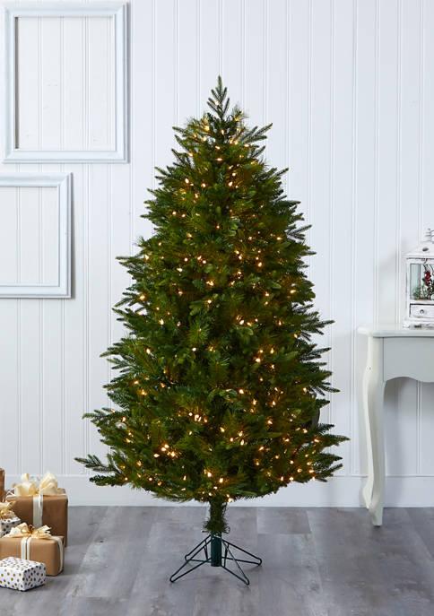 Nearly Natural Hartford Fir Christmas Tree