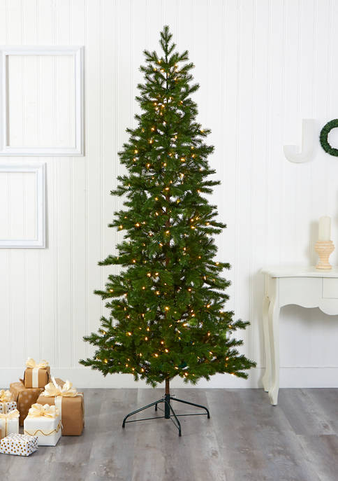 Nearly Natural 7.5 Foot Big Sky Spruce Christmas