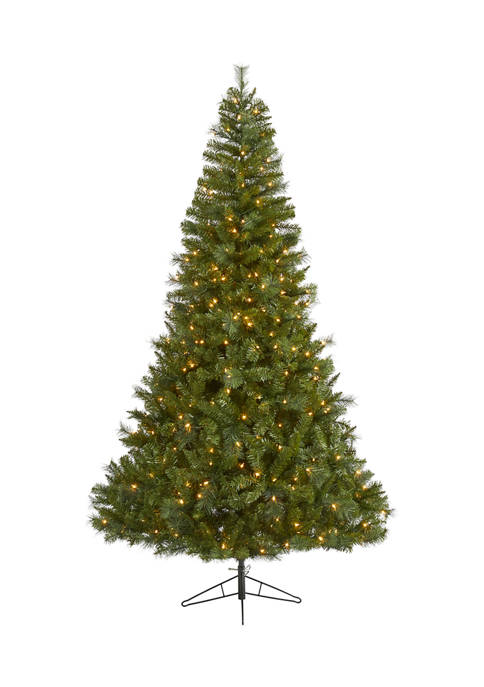 Nearly Natural 7.5 Foot Mount Hood Spruce Artificial