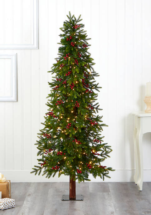 Nearly Natural 6 Foot Victoria Fir Christmas Tree
