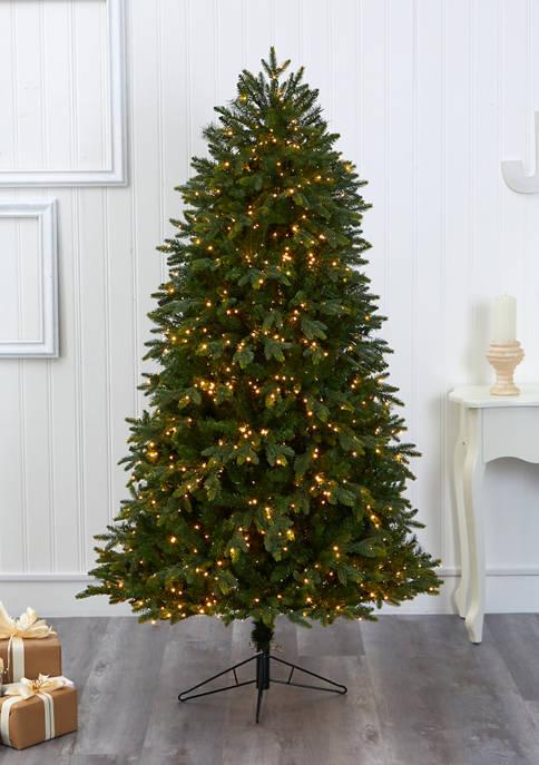 Nearly Natural Oregon Fir Christmas Tree