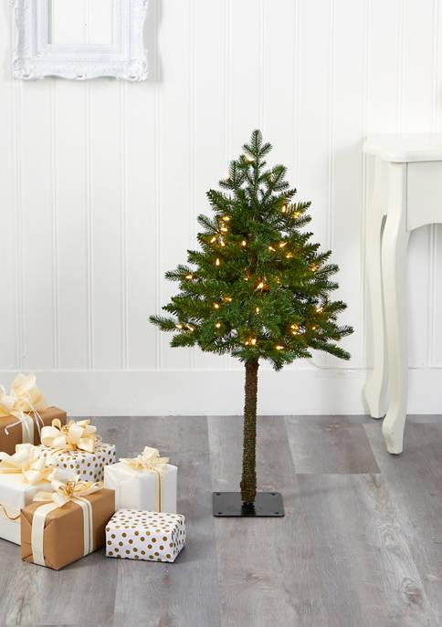 Nearly Natural Swiss Alpine Christmas Tree