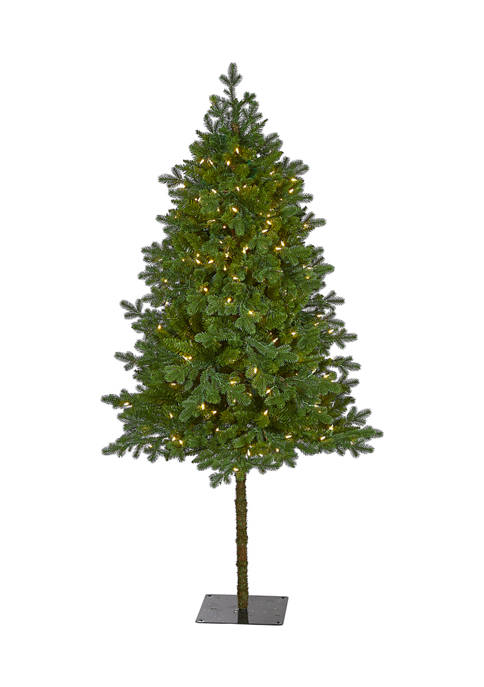 Nearly Natural 6 Foot Swiss Alpine Artificial Christmas