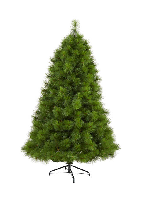 Nearly Natural 6 Foot Green Scotch Pine Artificial
