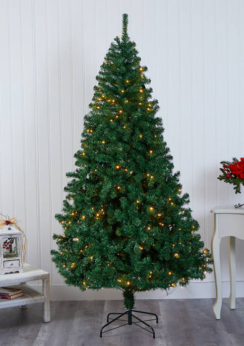 Nearly Natural Northern Tip Pine Christmas Tree