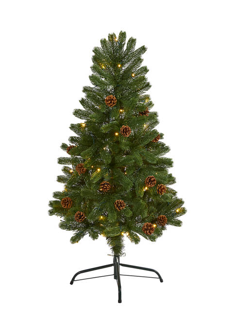 Nearly Natural 4 Foot Rocky Mountain Spruce Artificial