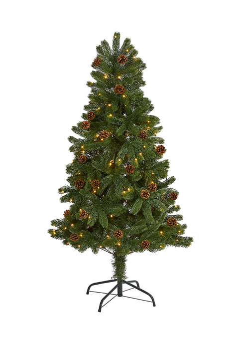 Nearly Natural 5 Foot Rocky Mountain Spruce Artificial