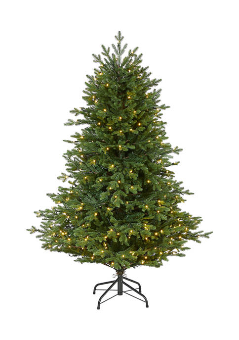 Nearly Natural 5 Foot Wyoming Spruce Artificial Christmas