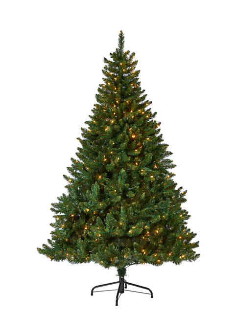 Nearly Natural 7 Foot Northern Rocky Spruce Artificial