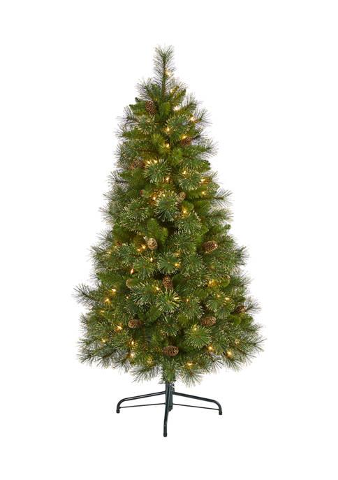 Nearly Natural 5 Foot Golden Tip Washington Pine