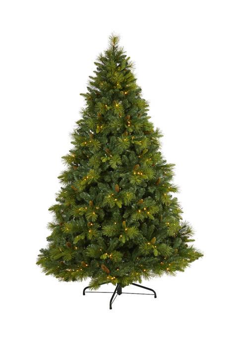 Nearly Natural 7.5 Foot North Carolina Mixed Pine