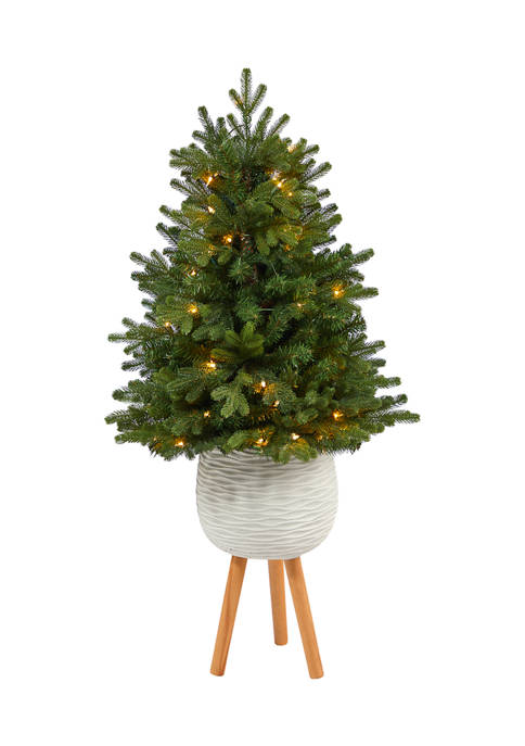 Nearly Natural 4 Foot Washington Fir Artificial Christmas