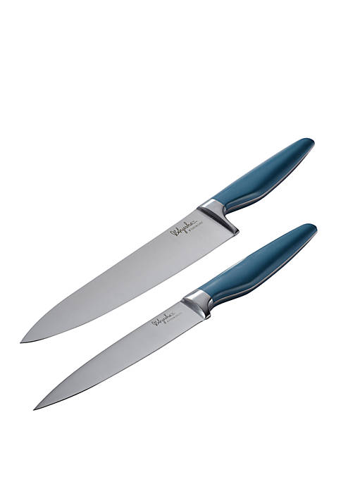 Ayesha Curry Japanese Steel Cooking Knife 2 Piece