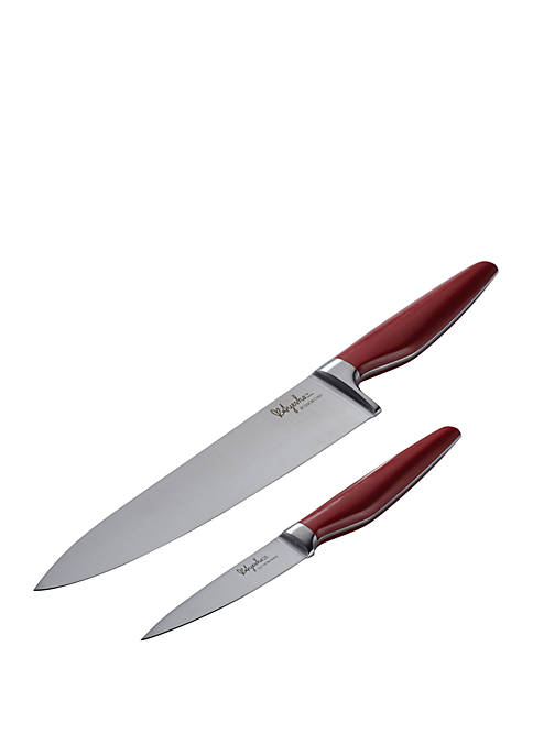 Ayesha Curry Japanese Steel Cooking 2-Piece Knife Set