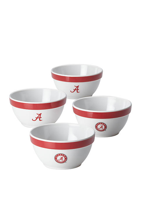 College Kitchen Collection University of Alabama Party Bowls,