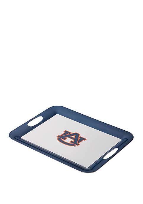 NCAA Auburn Tigers 16 Inch x 12.5 Inch Auburn University Serve n Score Party Platter