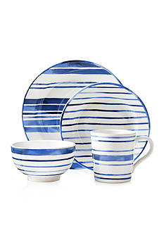 Ralph Lauren Cote d'Azur Striped Dinnerware Collection