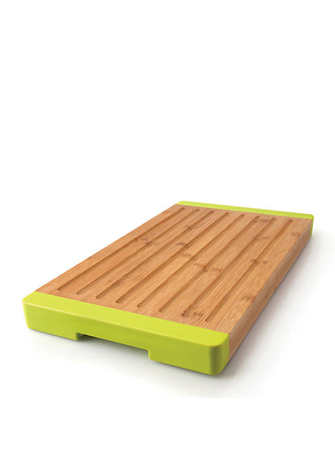 Grooved Bamboo Bread Board