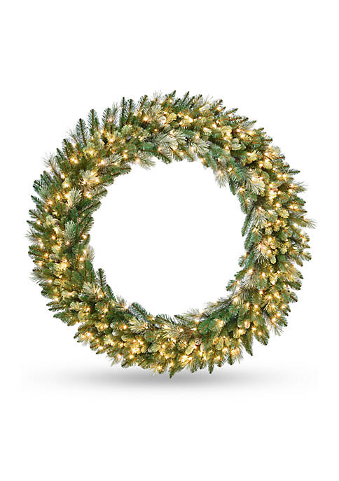 National Tree Company® Carolina Pine Wreath with Clear